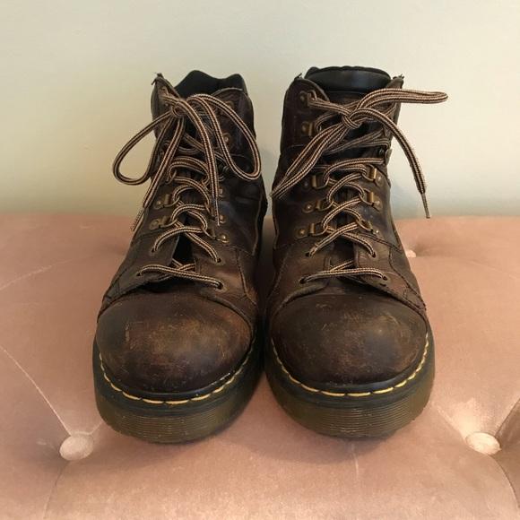 d20657bd162 DOC MARTENS- Men's Leather industrial boots 12